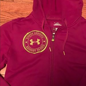 Under Armour cold gear zip up jacket size SM
